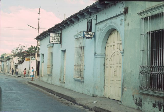 Church in Ahuachapan, El Salvador