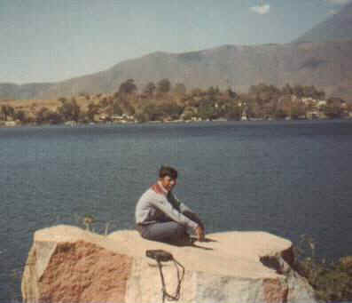 Elder Argueta at Lake Atitlan