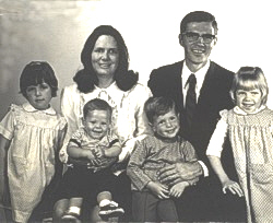 President Robert B. Arnold and family
