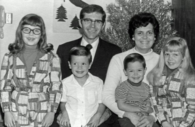 President Robert B. Arnold and family, Guatemala-El Salvador Mission.