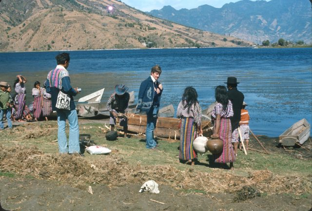 Elders Argueta and Howard at Lake Atitlan