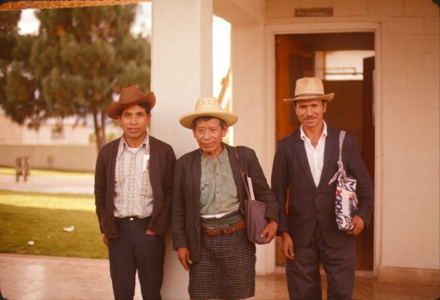 Clemente Alonzo Mich, Mateo Miculax, and Leocadio Per