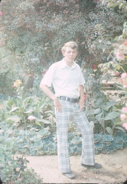 Elder Richman in Comalapa, May 1976