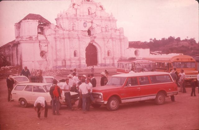 Missionary work day in Comalapa, February 23, 1976