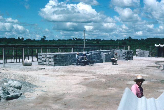 Construction camp bricks