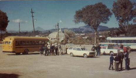 Work day in Comalapa February 23, 1976