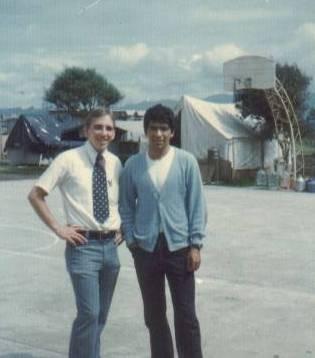 David Frischknecht and Julio Salazar