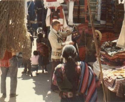 Frischknecht at market