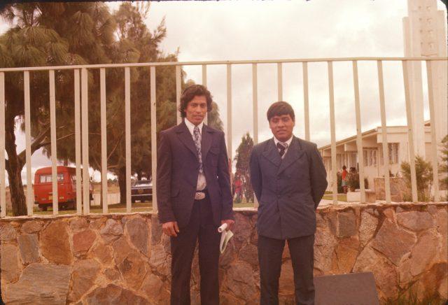"Fulgencio Choy and Daniel Choc. Fulgencio's nickname was ""colochin."