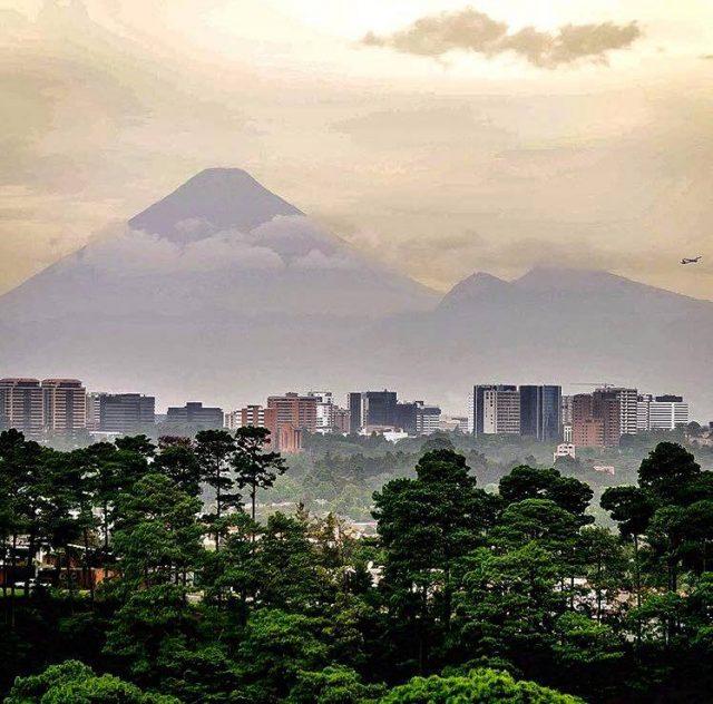 Guatemala-City-Volcano-Agua