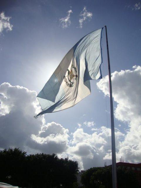 Guatemalan flag 02
