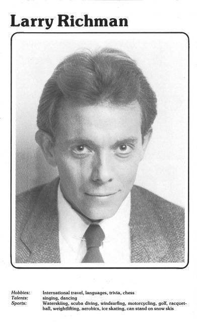 Larry Richman head sheet 1