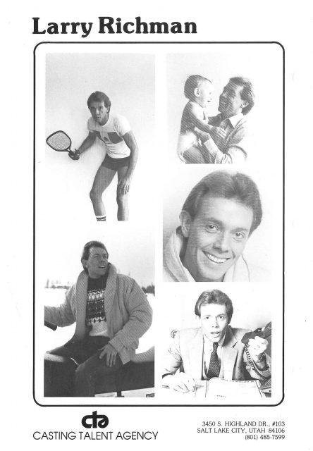 Larry Richman, head sheet 1