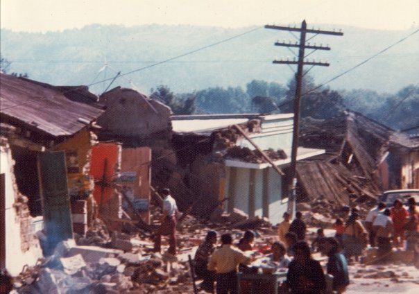 Homes and buildings destroyed
