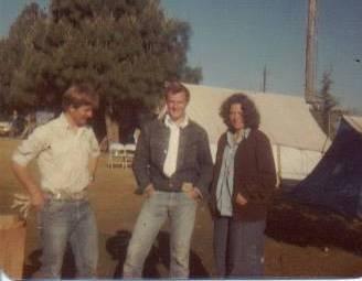Garth Howard, Kelly Robbins, Cathy Hyer