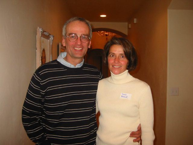 Jeff and Victoria (Wheatley) Schmidt at the reunion