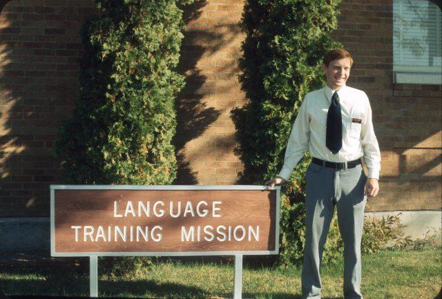 My LTM teacher, Elder Bruce Powell