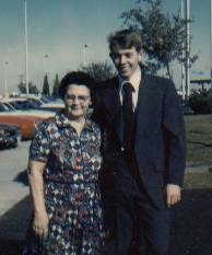 Larry Richman and his grandmother Boston Thomas Richman