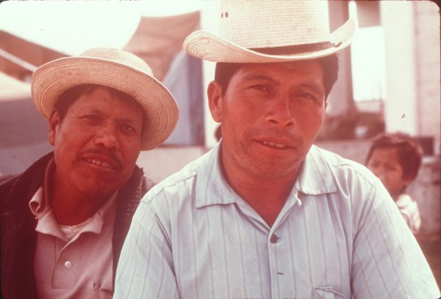 Luis Alonzo and Ricardo Cua. Ricardo's wife Arcadia was the Relief Society president.