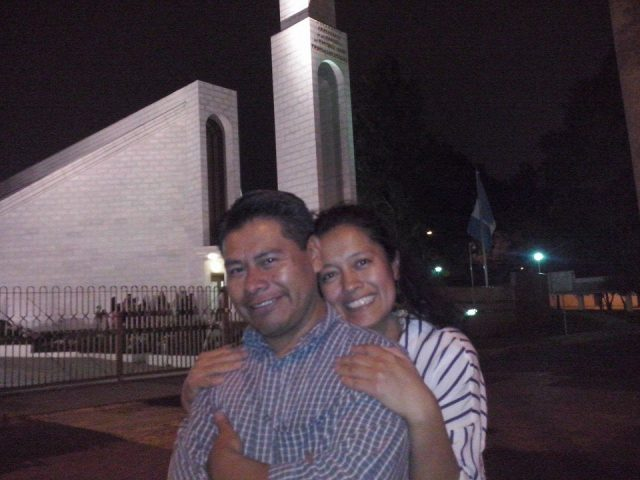 Noe Miza and his wife