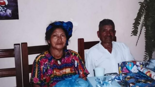 Pablo Choc and his wife