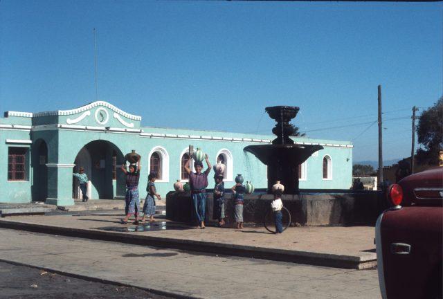 Patzicía city hall