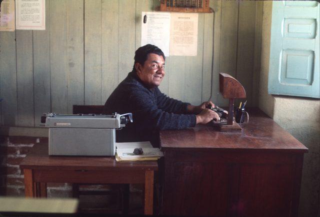 Patzicia Post Office Jorge Blas