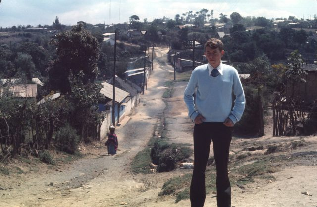 Elder Richman in Patzicía, Guatemala in 1975