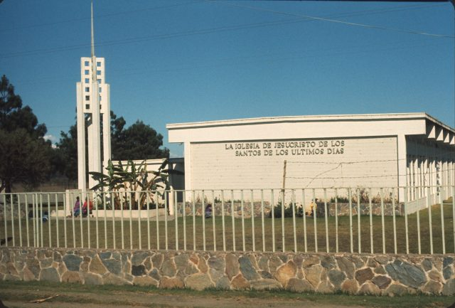 LDS Chapel in Patzicía, Guatemala