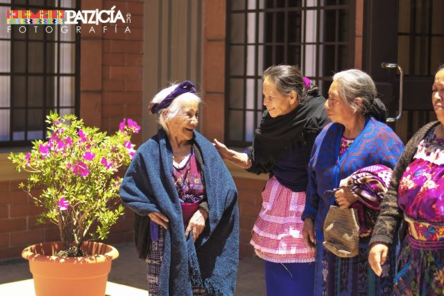 Women in Patzicía in 2017