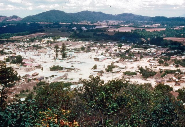 Patzún, Guatemala after the earthquake of 1976 (Photo courtesy of Michael Morris)