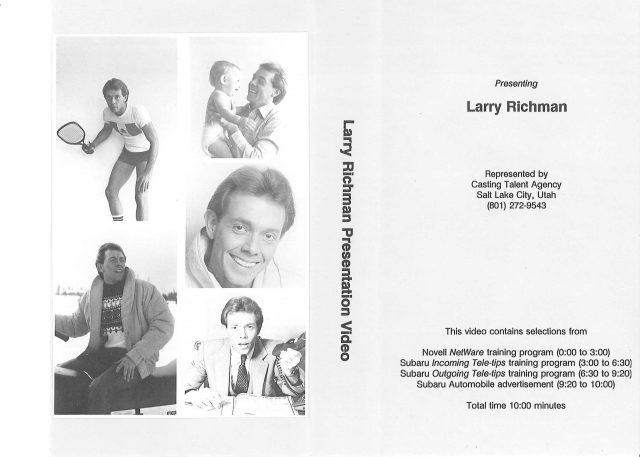 Larry Richman Promo-Video
