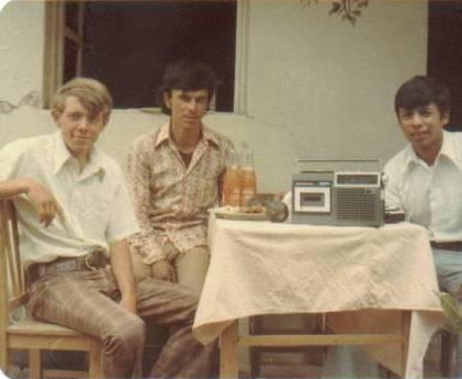 Elder Richman, Walter Matzer, Elder Argueta