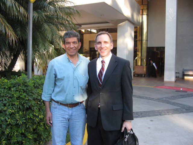 Julio Salazar and David Frischknecht in 2009