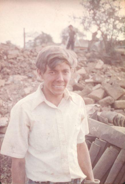 Elder Richman in Sumpango.