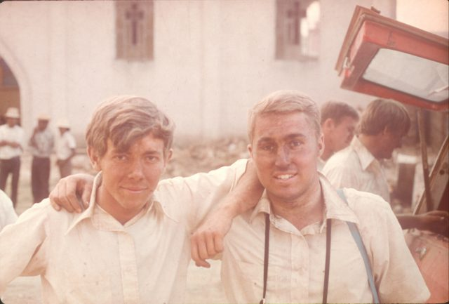 Elders Richman and Gibson after a workday in Sumpango.