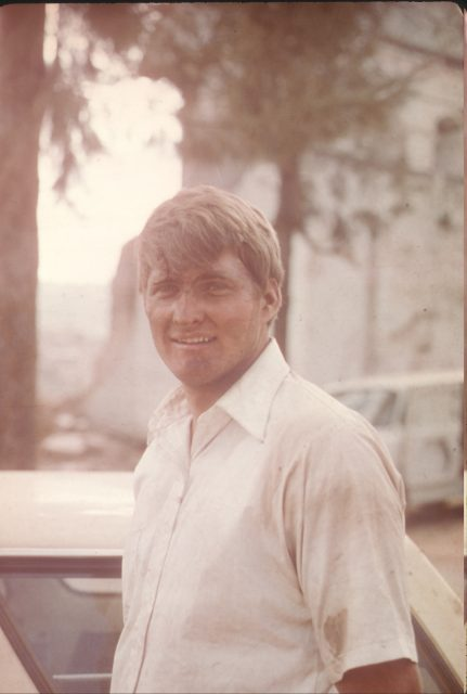 Elder Gary Larson in Sumpango