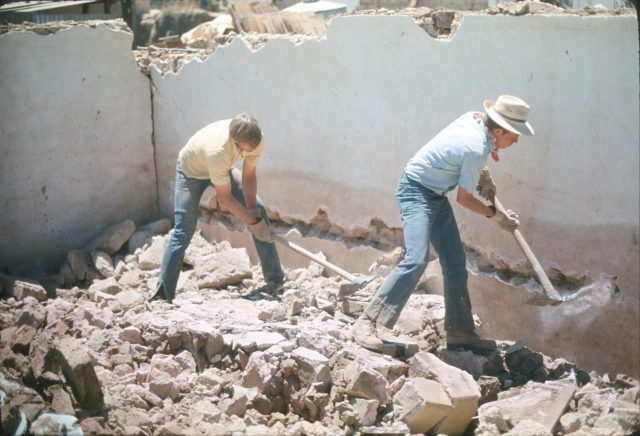 Tear down wall Larsen Richman