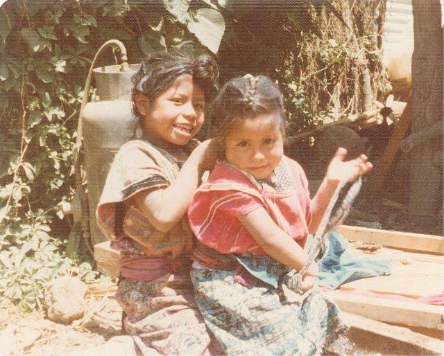 Pablo Choc's daughters Magdelena and Florinda