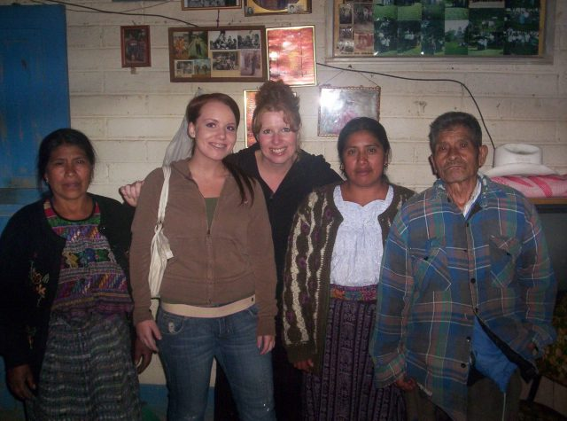 Pablo Choc in 2006. (Pablo Choc on the right. Margaret Blair Young in the center.)