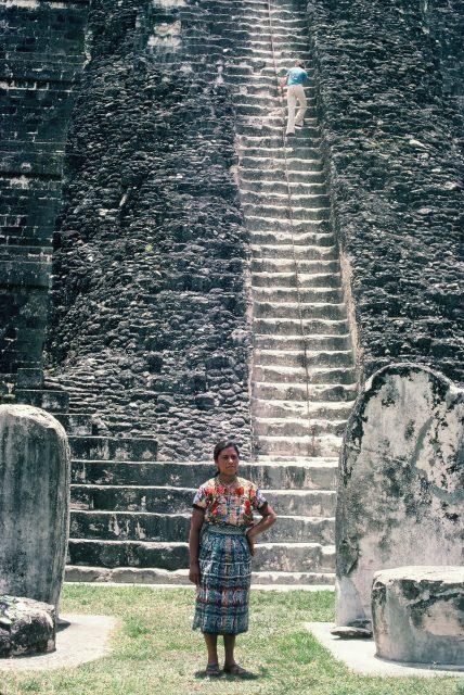 Elena Miza at Tikal