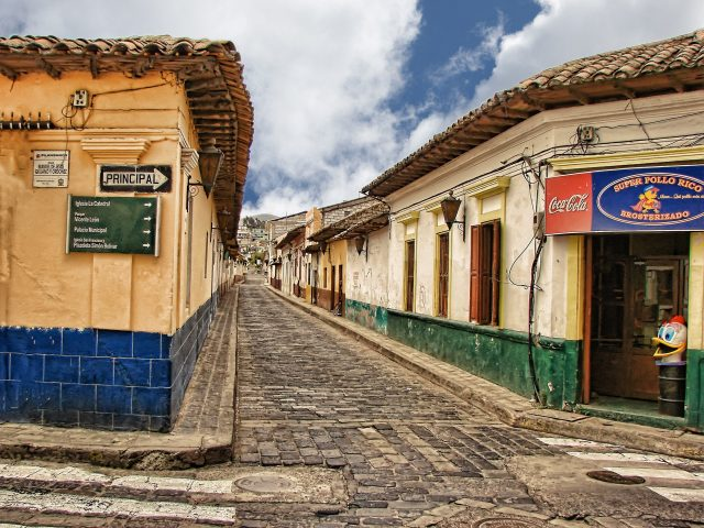 Typical Guatemalan town. (Photo courtesy of Pixabay, free for commercial use.)