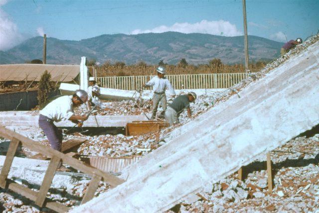 Demolition of the Patzicía, Guatemala LDS church