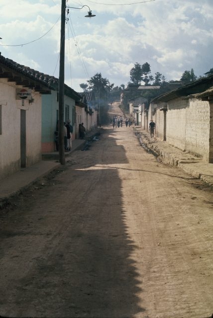 Returning to Comalapa after the baptism